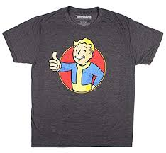 Fallout Vault Boy Mens T-Shirt: Clothing - Amazon.com