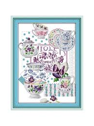 <b>DIY</b> Handmade Needlework Counted Cross Stitch Set <b>Embroidery</b> ...