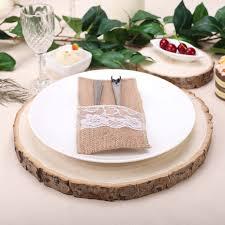 BalsaCircle 12-15-<b>Inch</b> wide <b>Natural Round</b> Poplar Wooden Slices ...