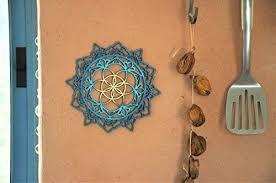 Mandala Wood Wall Art, Home Decor, Morrocan ... - Amazon.com