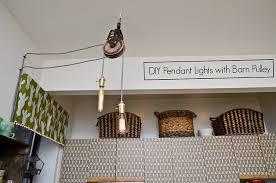 DIY <b>Pendant Lights</b> (With Barn <b>Pulleys</b>) | Stars for Streetlights