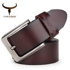 China Cowather <b>Men</b> Belt Cow Genuine Leather <b>Luxury Strap Male</b> ...