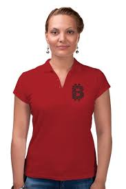 Рубашка Поло Офис крипто стиль (<b>красный</b>) #2384457 за 1 490 ...