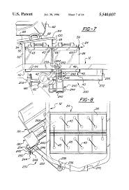 patent us5540037 control system for electric drive riding mower patent drawing
