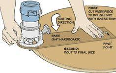 Router Circle Cutting Jig for <b>Woodworking</b>   <b>Woodworking</b>   Router ...