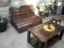 diy pallet patio furniture. diy pallet outdoor seating set patio furniture
