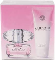 <b>Versace Bright Crystal</b> Set EdT 50ml+100ml in duty-free at airport ...
