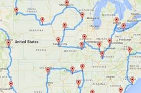 Map Shows the Perfect U.S. Road Trip, According to Science