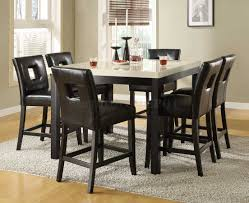 tall dining chairs counter: awesome dining room tall dining room chairs ubervic bar height
