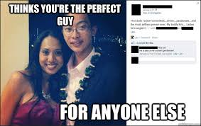 thinks you're the perfect guy for anyone else - friend zone ... via Relatably.com