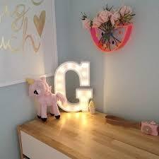 marquee letter lamp nursery room lighting kids bedroom decoration bedroom lighting ideas nz