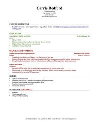 school rsum sample resume without experience