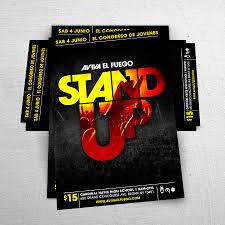 christian flyer design for ministry events studio design flyer poster design aviva el fuego joan sanchez rio poderoso