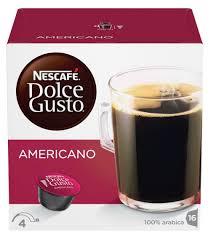 <b>Кофе в капсулах Dolce</b> Gusto, Американо, 160 г - купить по цене ...