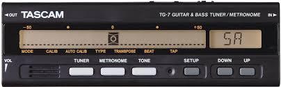 <b>Tascam TG</b>-<b>7 тюнер</b> для <b>гитары</b> купить в Москве в интернет ...