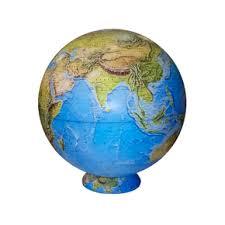 Большой физический настольный <b>глобус</b> на картографической ...