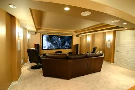 themed family rooms interior home theater: interior design luxury brown theme small basement home theater exclusive finished basements ideas for enhanced room extension