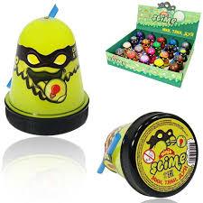 <b>Слайм</b> TM <b>Slime Ninja</b> светится в темноте желтый <b>130 гр</b> S130-19