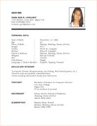 resume format 19r02 resume job experience format example of job 15 resume format sample sample resumes resume format sample professional resume format doc professional curriculum
