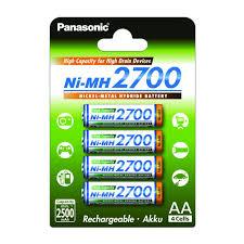 Купить <b>Аккумулятор PANASONIC</b> 4BP(BK-3HGAE/4BE) <b>AA</b> 2700 ...