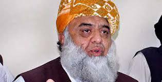 ISLAMABAD: Jamiat Ulema-e-Islam (JUI-F) chief Maulana Fazlur Rahman on Tuesday strongly condemned Karachi airport incident. - fazlur-rahman