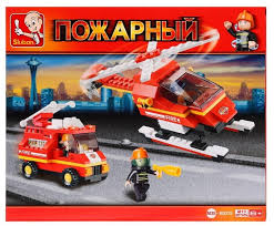 Купить <b>Конструктор SLUBAN Пожарные</b> спасатели M38-B0219 ...