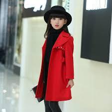 2019 New <b>Autumn Winter</b> Kids <b>Girls Woolen</b> Thick Warm Coat ...