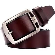 <b>Men's</b> Genuine Leather Dress Belt cow genuine leather <b>luxury strap</b> ...