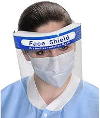 5 <b>pcs</b> Safety <b>Face Shield</b> Full Protection <b>Visor</b> Cap with Protective ...