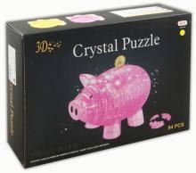 """""""Головоломка <b>3D Crystal Puzzle</b> """"<b>Свинья</b> - копилка"""" XL (HJ027166 ..."""