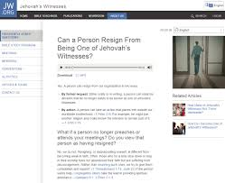 news bulletin jw org asks can a person resign from being one of resign jw1