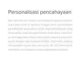 [<b>Mi LED Smart Bulb</b>]Info produk - Indonesia