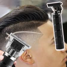 1pc Hot USB Rechargeable Metal Trimmer Barber Hair ... - Vova