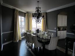 Black Leather Dining Room Chairs Black Dining Room Idea For Stylish Modern Home Nuhomedesign