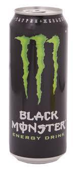 <b>Напиток энергетический</b> безалкогольный «<b>Black</b> Monster», 449 мл