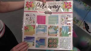 Getaway <b>Collection</b> by <b>Scrapbook</b> Customs | Mixed Media Event ...