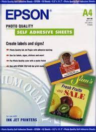 <b>Бумага Epson</b> S041106 <b>A4</b>, 167 г/м2 (10 л.), цена 1050 p. — купить ...