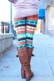 <b>Stylish Elastic Waist Christmas</b> Print Slimming Women's Pants ...