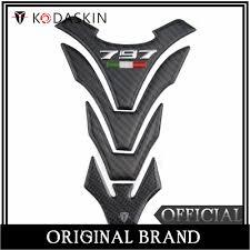 <b>KODASKIN</b> For Ducati Monster 797 2017 <b>Real Carbon</b> Tank Pad ...