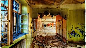 other decayed hallway abandoned post office urban decay photography building full hd 1080p background for band office cubicle