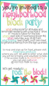 block party invitation template gangcraft net how to throw a block party printable invitation template party invitations