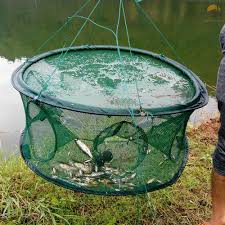 Ikonlife <b>Fishing Gear</b> Net Shrimp Cage Cage <b>Hand Throw</b> Automatic ...