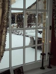 Image result for snowy day looking out a window
