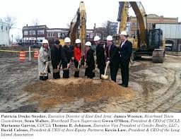 news cdcli groundbreaking held in downtown riverhead for new mixed income apartments
