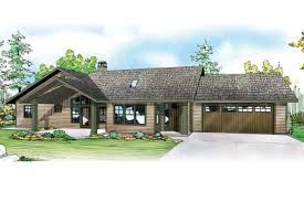Ranch House Plans   Ranch Home Plans   Ranch Style House Plans    Ranch House Plan   Elk Lake     Front Elevation