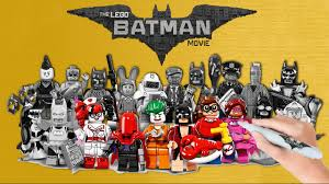 Small Picture The LEGO Batman Movie 20 Minifigures Coloring Book Pages Video for