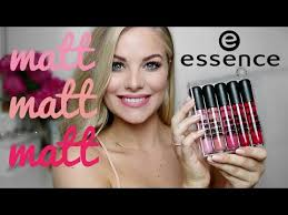 <b>essence matt matt matt</b> longlasting lipgloss DEMO, REVIEW ...