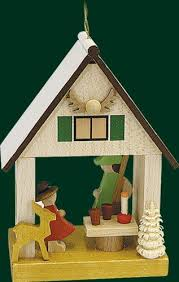 Hanging <b>Christmas</b> Tree House <b>Shaped</b> Ornament <b>Forester</b>, 3.2 ...