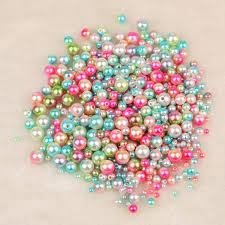<b>4mm 6mm 8mm</b> Imitation Pearls With Holes For Bracelet Necklace ...