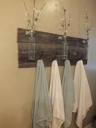 guest bathroom towels: ideas about pallet towel rack on pinterest pallets rack